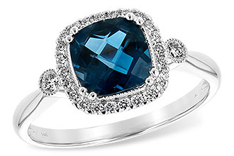 F244-19934: LDS RG 1.62 LONDON BLUE TOPAZ 1.78 TGW