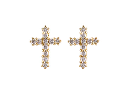 L055-17242: EARRINGS .15 TW